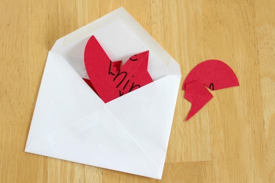 Valentine Handmade Puzzle Cards