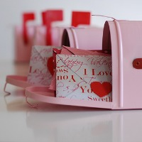 Sweet Mailboxes for Valentines