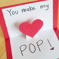 Valentine Pop Up Cards