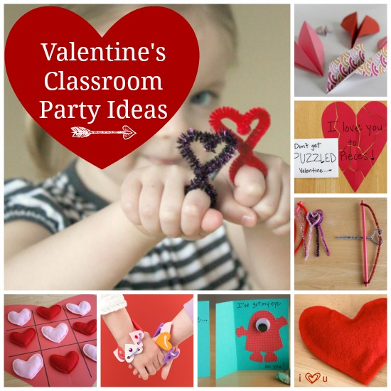 Valentine's Classroom Party Ideas @makeandtakes.com #valentines