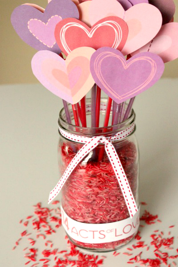 Valentine's Day Countdown Printable