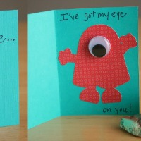 Monster Valentine's Day Cards