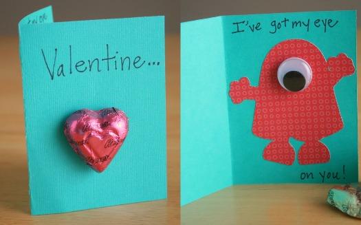 Monster Valentine's Cards