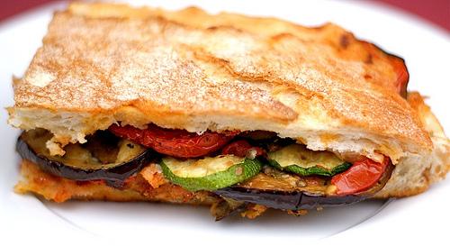 Veggie Pizza Panini