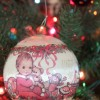 Vintage Ball Ornament