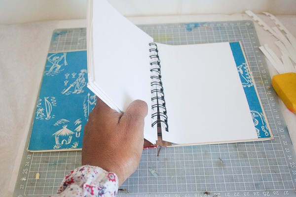 Vintage Book Cover Journal by Francine Clouden at Make & Takes-11