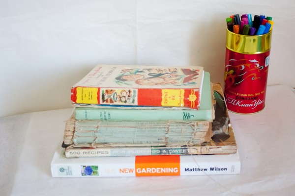 Vintage Book Cover Journal by Francine Clouden at Make & Takes-13