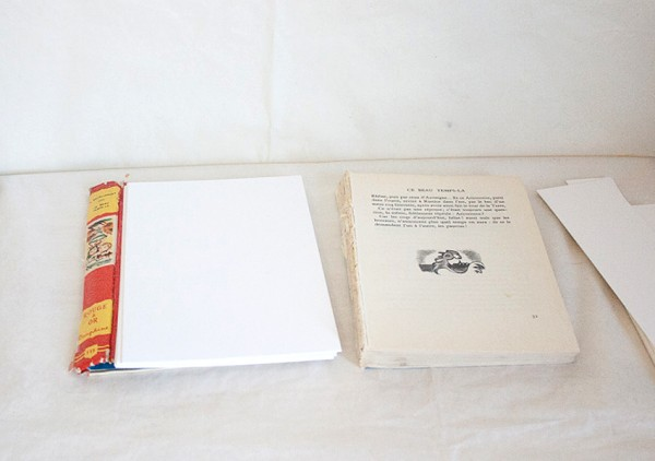 Vintage Book Cover Journal by Francine Clouden at Make & Takes-3