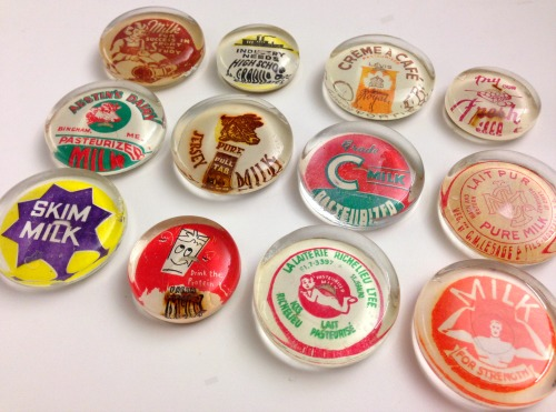 Vintage Fridge Magnets