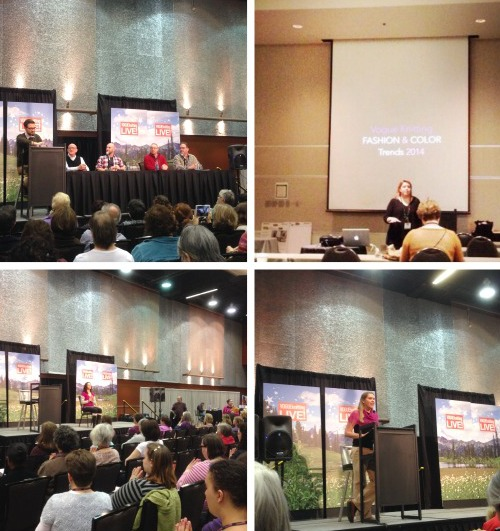 Vogue Knitting Live Panels Seattle