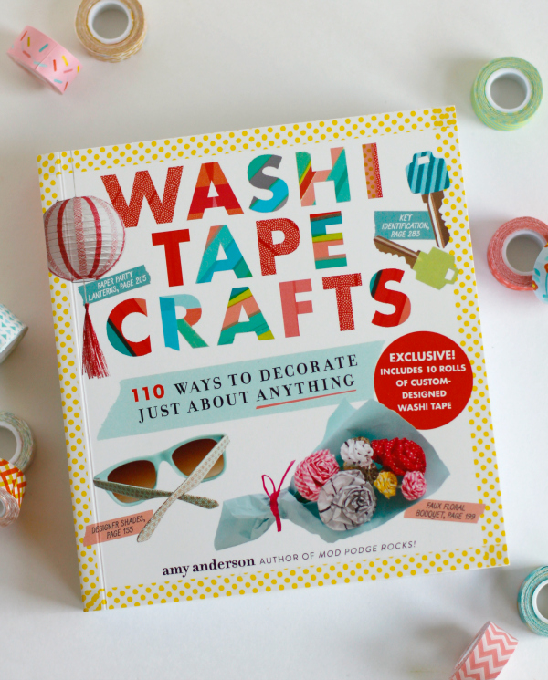 Washi tape crafts book review make and takes for What can you do with washi tape