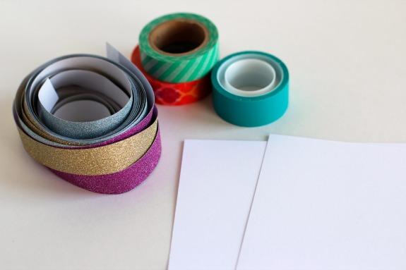 Washi Tape Tree Supplies