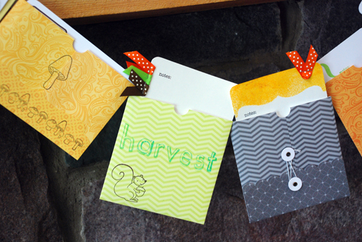 """We Give Thanks"" Envelope Banner for Thanksgiving"