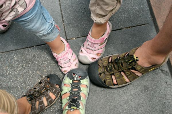 Wear Good Shoes at Disneyland - My Disney Side