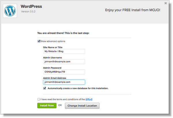 Wordpress Login with Bluehost for Starting a Blog