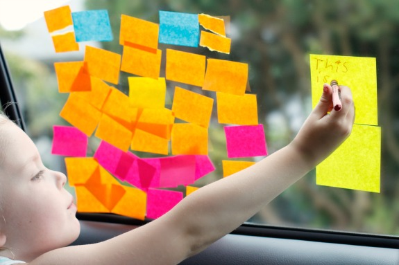Writing and Creating with Post-it Notes on Windows