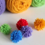 Y is for Yarn Poms
