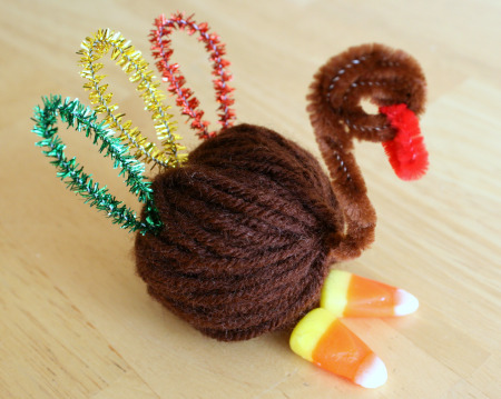 Yarn Turkey Favor