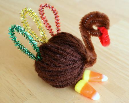 Yarn Turkey Favor