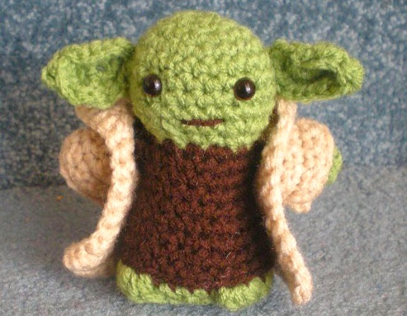 Yoda Amigurumi Crochet on eBay