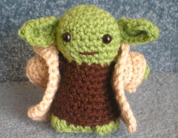 Yoda Amigurumi Crochet on eBay