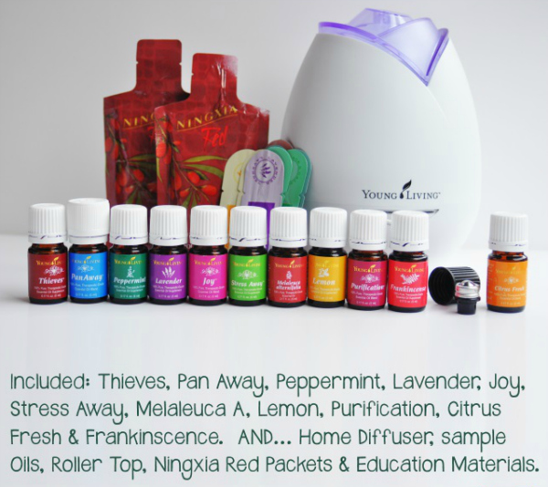 Young Living Essential Oils Starter Kit Premium