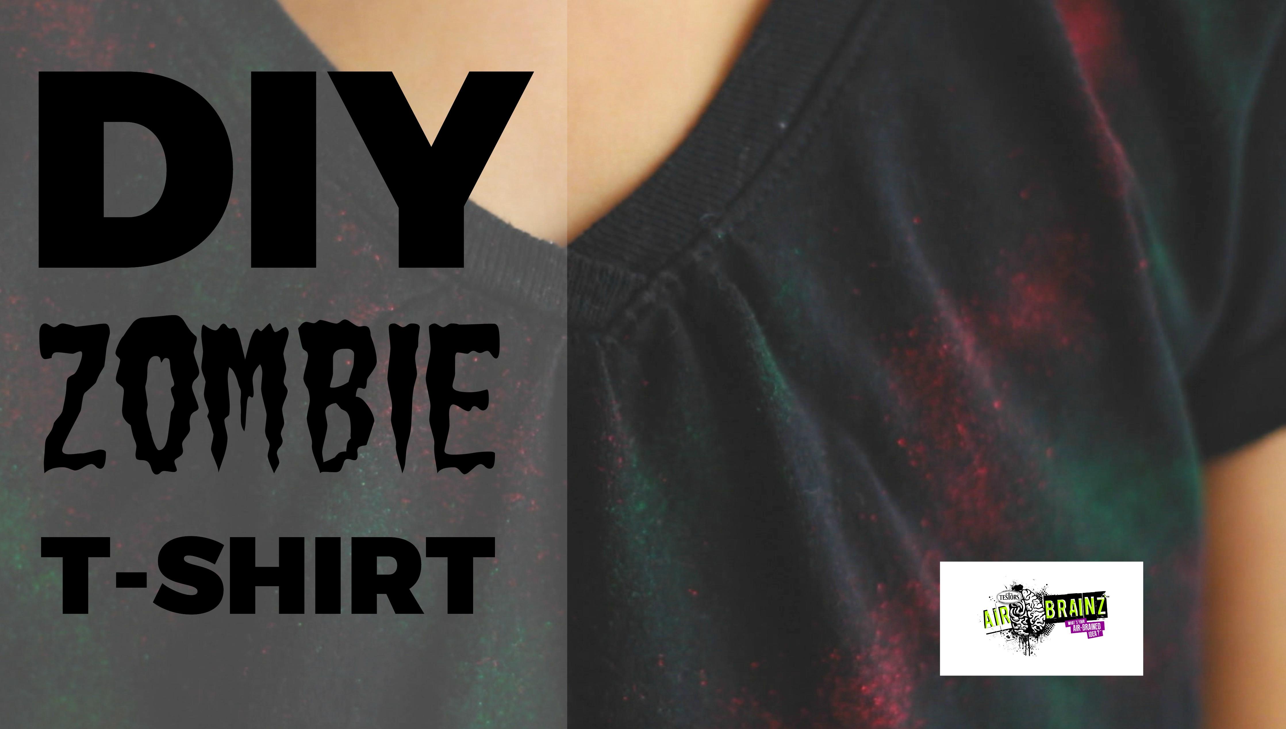 DIY Zombie T Shirt