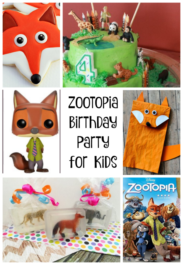Zootopia Birthday Party for Kids