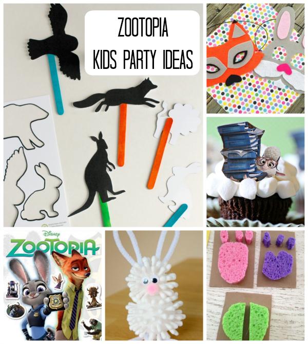 Zootopia Kids Party Ideas