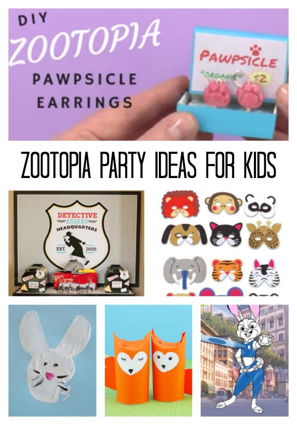 Zootopia Party Ideas for Kids