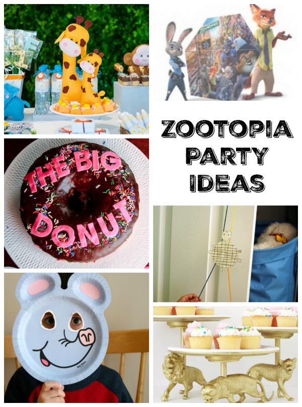 Zootopia Party Ideas