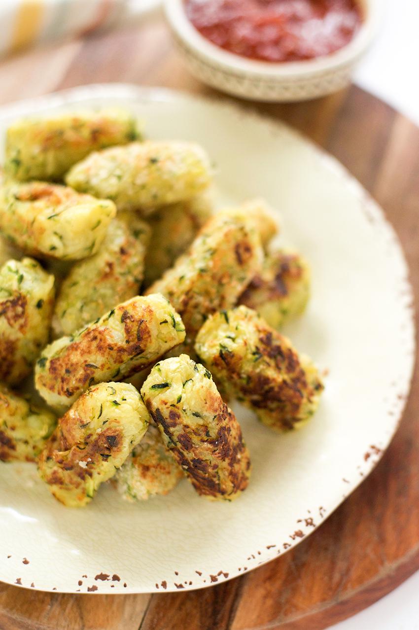 Zucchini Parmesan Tater Tots