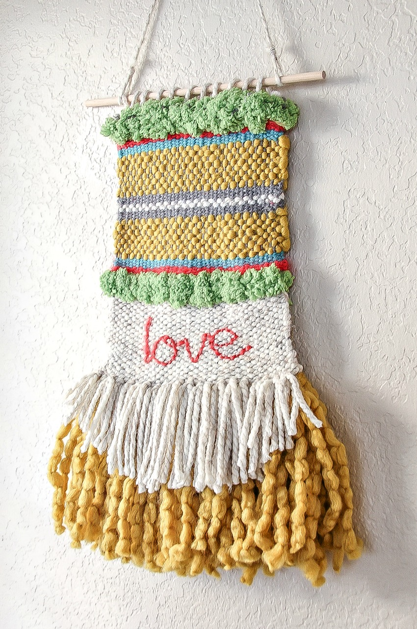 Woven Wall Hanging how to: woven wall hanging | make and takes