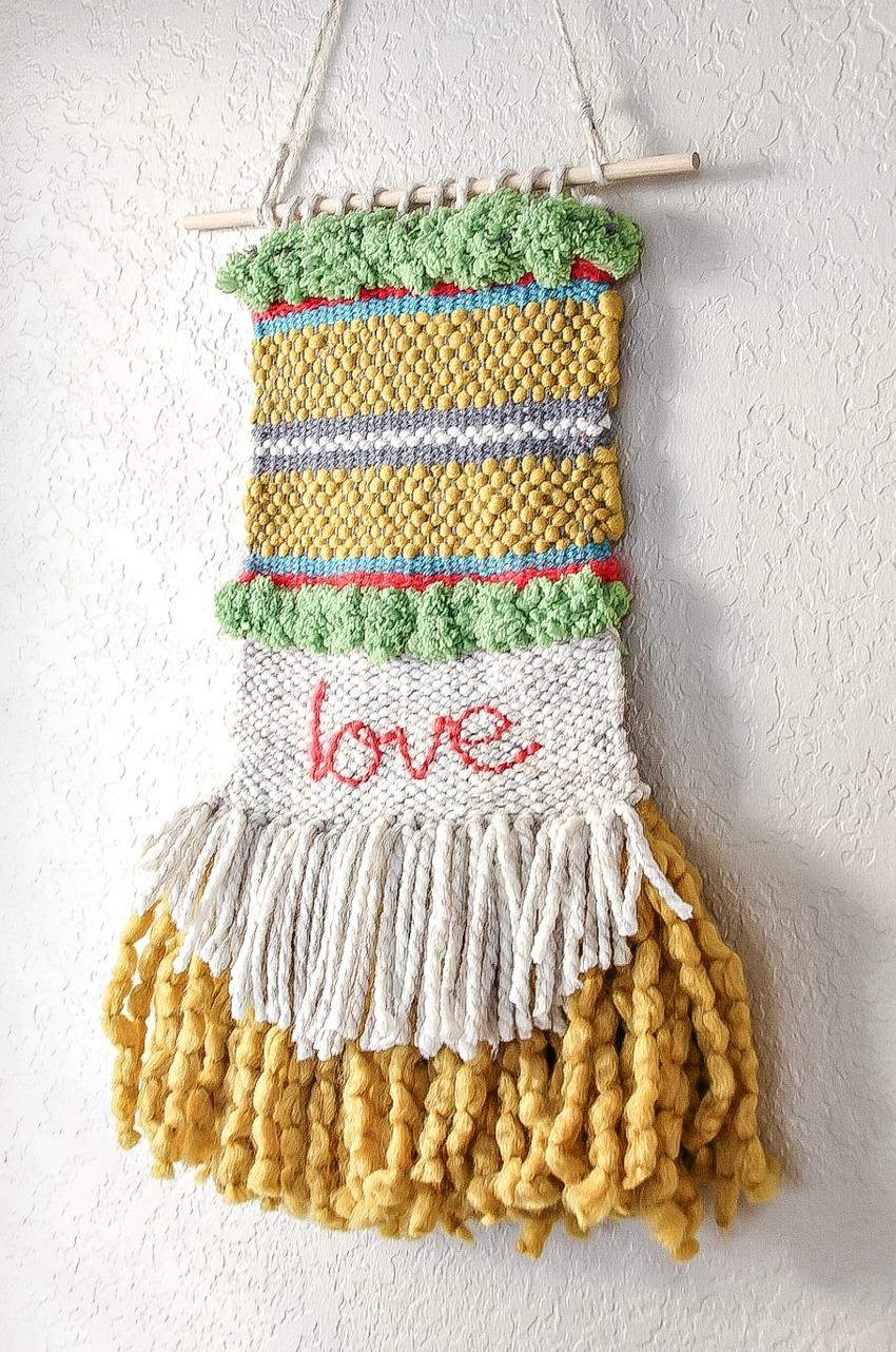 8\u201d Woven Wall Hanging