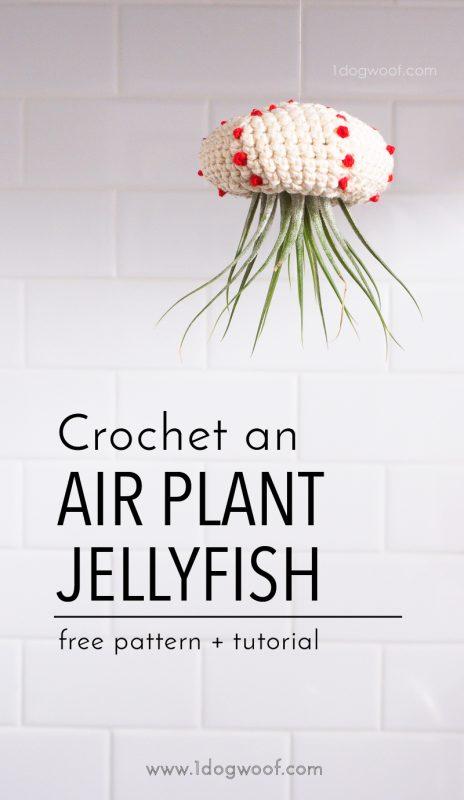 Crochet Air Plant Jellyfish Tutorial
