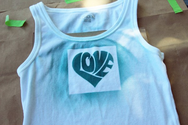 Airbrushed tank tops for tweens and teens