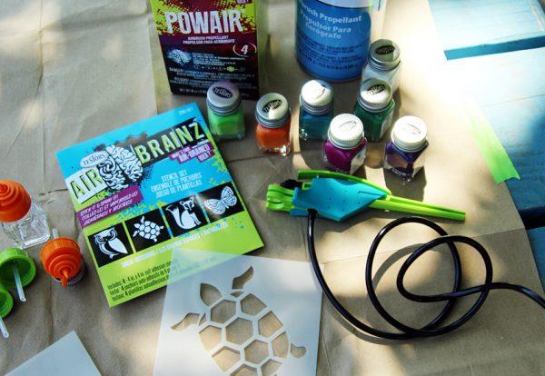 Testors AirBrainz airbrush supplies