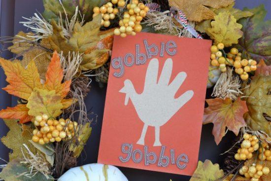 Handprint Turkey Keepsake