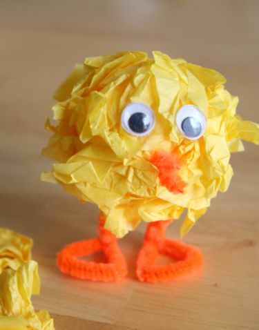 Crafty Easter Chick