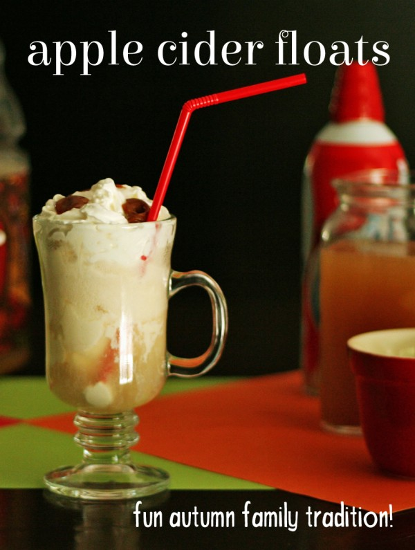 Welcome Autumn with a deluxe Apple Cider Float Bar!