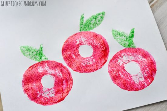 Apple Craft with Pool Noodle