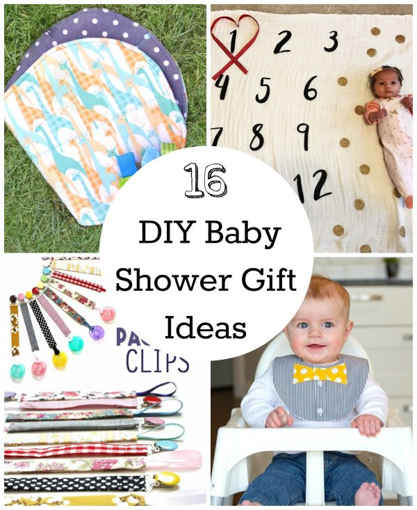 16 Diy Baby Shower Gifts To Make Make And Takes