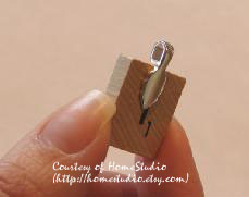 Make your own scrabble tile pendant necklaces make and takes step 8 aloadofball Image collections
