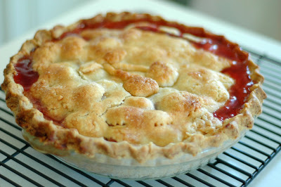 Fresh Cherry Pie   Make and Takes