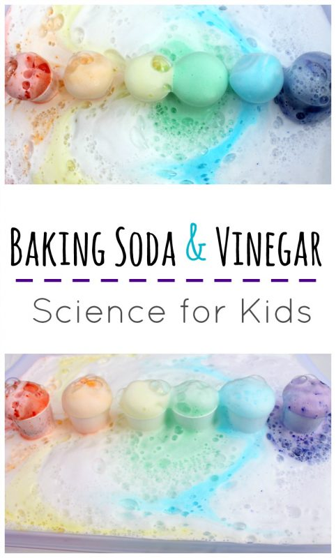 baking soda and vinegar science for kids
