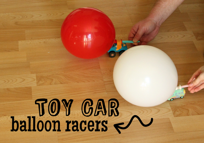 Toy Car Balloon Racers Make And Takes