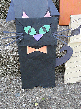 English Is Funtastic Halloween Paper Bag Puppets Tutorial