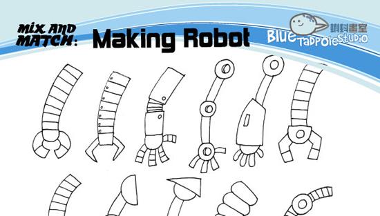Blue Tadpole Studio Robots