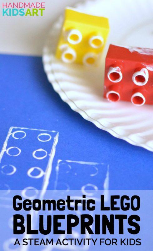 Geometric LEGO Blueprint