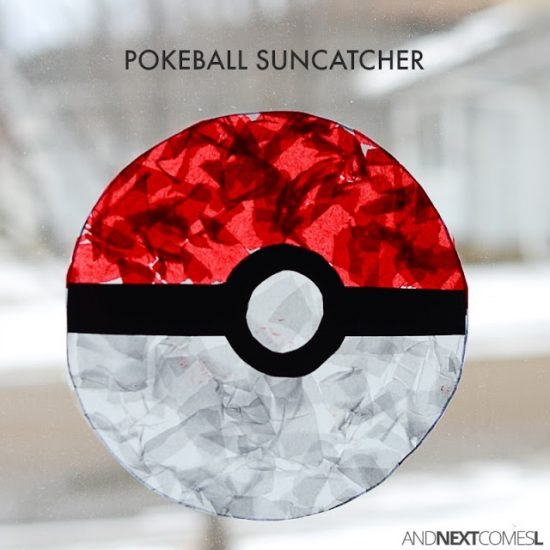 Pokéball Suncatcher